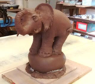 Elephant photo prise par khnoum