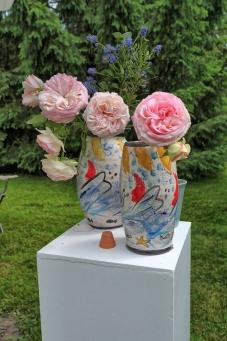 STAND VATTEVILLE vases ronsard photo BELLIARD - Copie